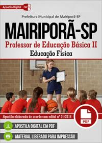 Professor de Educação Básica II - Educação Física - Prefeitura de Mairiporã - SP