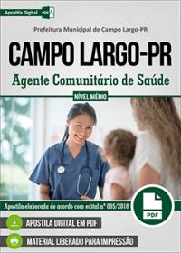 Agente Comunitário de Saúde - Prefeitura de Campo Largo - PR