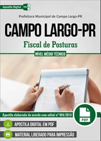 Fiscal de Posturas - Prefeitura de Campo Largo - PR