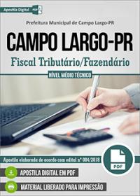 Fiscal Tributário - Fazendário - Prefeitura de Campo Largo - PR