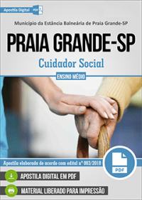 Cuidador Social - Prefeitura de Praia Grande - SP
