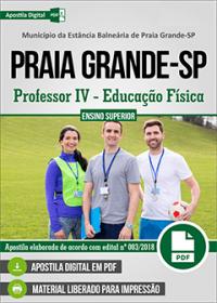 Professor IV - Educação Física - Prefeitura de Praia Grande - SP