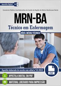 Técnico em Enfermagem - MRN - BA