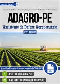 Assistente de Defesa Agropecuária - ADAGRO - PE