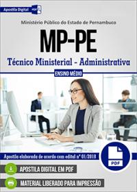 Técnico Ministerial - Administrativa - Ministério Público - PE