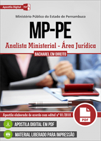 Analista Ministerial - Área Jurídica - Ministério Público - PE