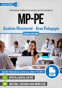 Analista Ministerial - Área Pedagogia - Ministério Público - PE