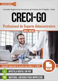 Profissional de Suporte Administrativo - CRECI-GO