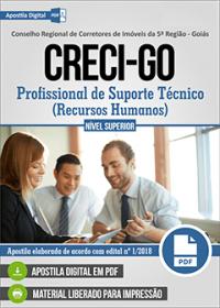 Profissional de Suporte Técnico - Recursos Humanos - CRECI-GO