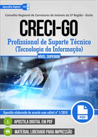 Profissional de Suporte Técnico - Tecnologia da Informação - CRECI-GO