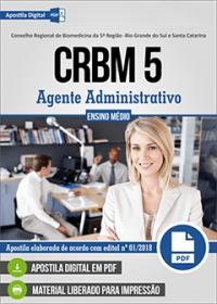 Agente Administrativo - CRBM 5