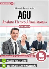 Analista Técnico-Administrativo - AGU