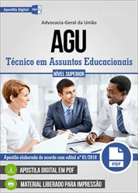 Técnico em Assuntos Educacionais - AGU