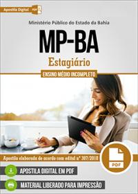 Estagiário - Ensino Médio Incompleto - MP-BA