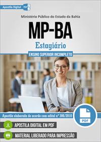 Estagiário - Ensino Superior Incompleto - MP-BA