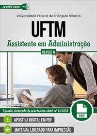 Assistente em Administração - UFTM