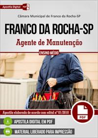 Agente de Manutenção - Câmara de Franco da Rocha - SP