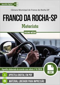 Motorista - Câmara de Franco da Rocha - SP