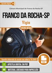 Vigia - Câmara de Franco da Rocha - SP
