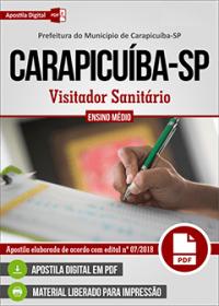 Visitador Sanitário - Prefeitura de Carapicuíba - SP