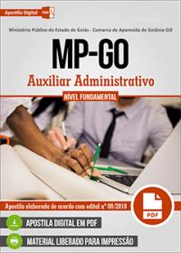 Auxiliar Administrativo - MP-GO