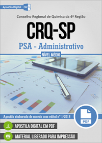 PSA - Administrativo - CRQ-SP