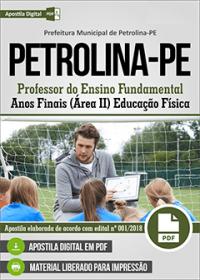 Professor de Educação Física - Prefeitura de Petrolina - PE