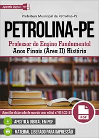 Professor de História - Prefeitura de Petrolina - PE