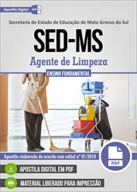 Agente de Limpeza - SED-MS