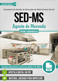 Agente de Merenda - SED-MS