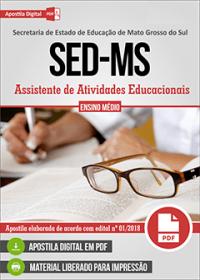 Assistente de Atividades Educacionais - SED-MS