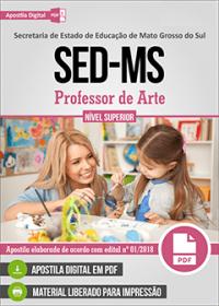 Professor de Arte - SED-MS