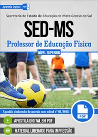 Professor de Educação Física - SED-MS