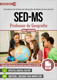 Professor de Geografia - SED-MS