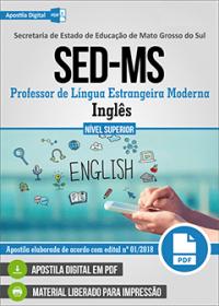 Professor de Inglês - SED-MS