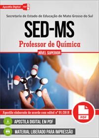 Professor de Química - SED-MS