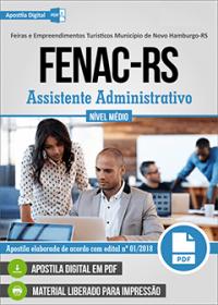 Assistente Administrativo - FENAC-RS