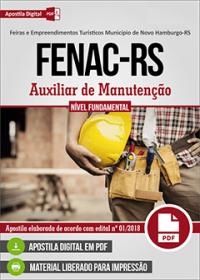 Auxiliar de Manutenção - FENAC-RS