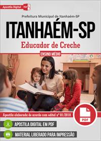 Educador de Creche - Prefeitura de Itanhaém - SP