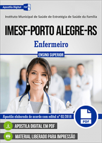 Enfermeiro - IMESF - Porto Alegre-RS