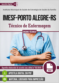 Técnico de Enfermagem - IMESF - Porto Alegre-RS