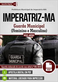 Guarda Municipal - Prefeitura de Imperatriz - MA