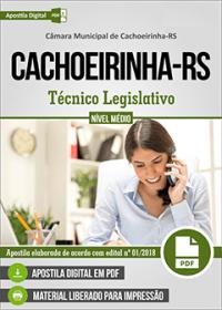 Técnico Legislativo - Câmara de Cachoeirinha - RS