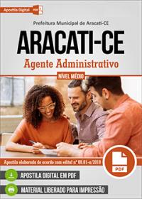 Agente Administrativo - Prefeitura de Aracati - CE