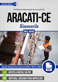 Almoxarife - Prefeitura de Aracati - CE