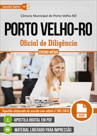 Oficial de Diligência - Câmara de Porto Velho - RO