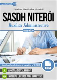 Auxiliar Administrativo - SASDH Niterói - RJ