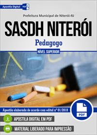 Pedagogo - SASDH Niterói - RJ