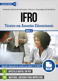 Técnico em Assuntos Educacionais - IFRO