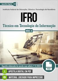 Técnico em Tecnologia da Informação - IFRO